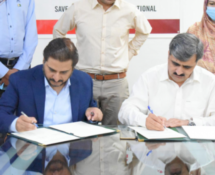 MoU signing with Provincial Disaster Management Authority - Khyber Pakhtunkhwa