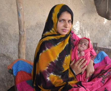 Educating young mothers in Sindh – A glimpse into Sajida's journey