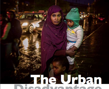 Global Report emphasized to reduce urban disparity to give child & maternal health a chance