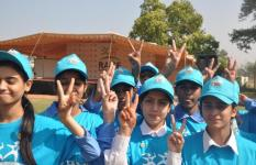 Super Heroes in Pakistan sprints to endorse their right for Survival